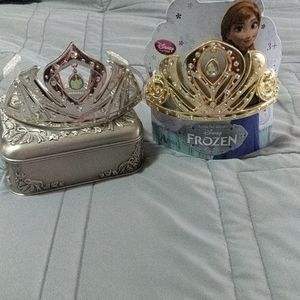 Disney Anna and Elsa crowns